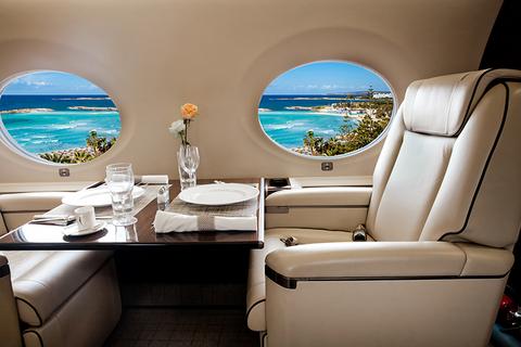 Cabrits Resort & Spa Kempinski Dominica Tropical Aviation Beechcraft King Air 200