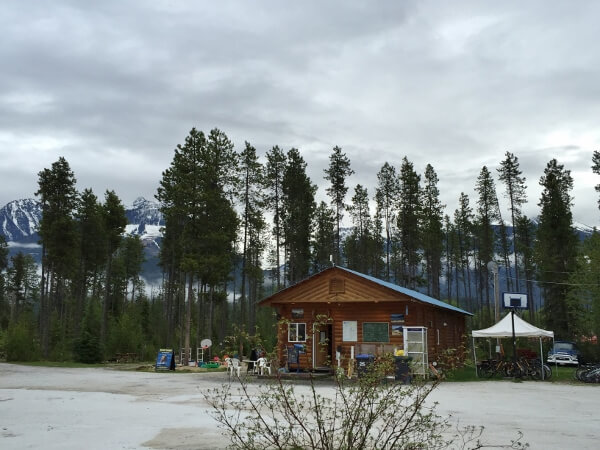 Blue River BC Campground