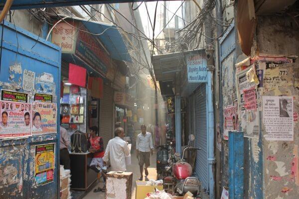Alleys of Old Delhi