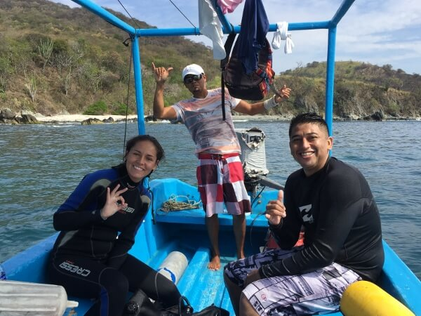 Zihuatanejo Dive Center Staff