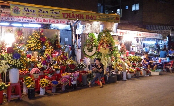 Ho Chi Minh City Flower District