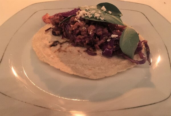 Huitlacoche Empanada with Chipotle Mayonnaise