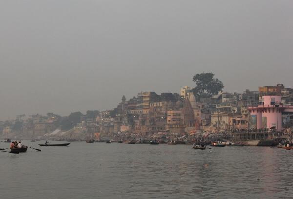 Early Morning in Varanasi India