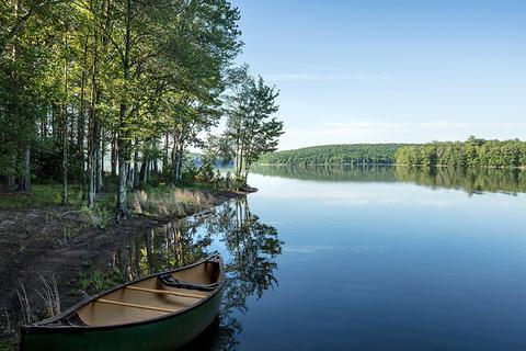 The Chatwal Lodge lake
