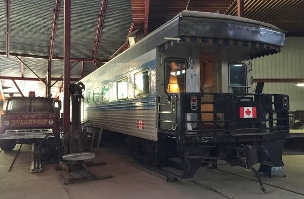 3 Valley Gap Historic Rail Car