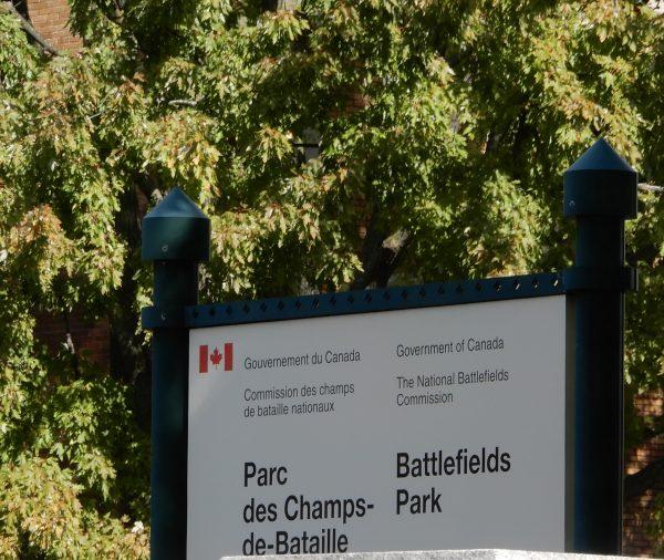Battlefields Park Quebec City