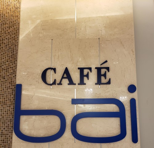 Cafe Bai Entrance Sign