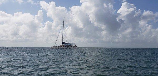 Catamaran Tour Boat Cuba