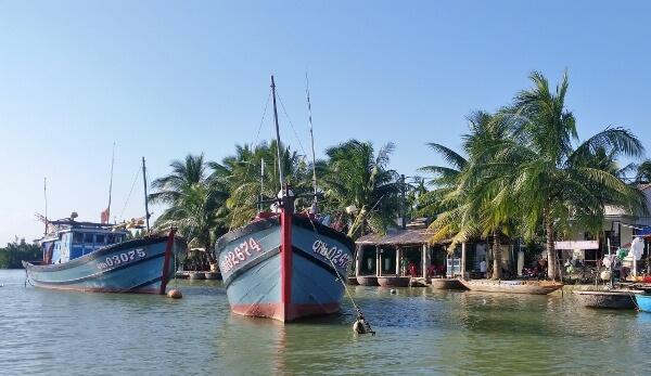 Fish Boats Hoi An Vietnam