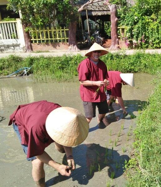 Hoi An Eco Tourism Rice Planting