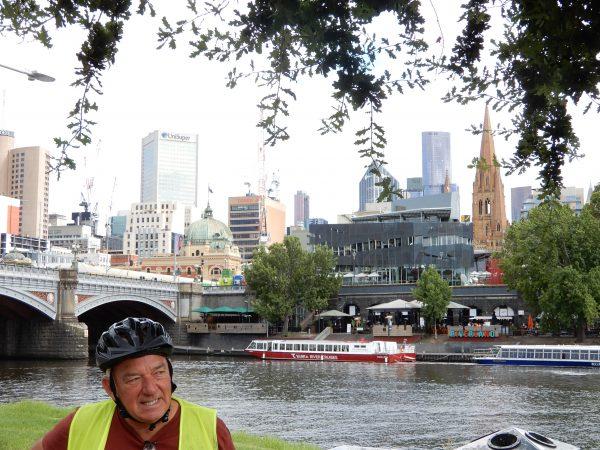 Melbourne Australia Riverfront