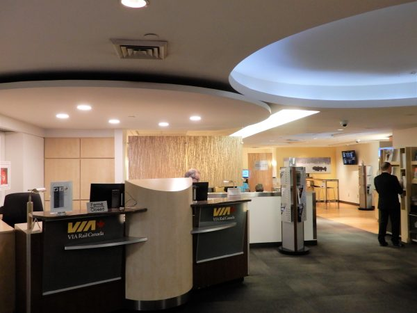 Montreal's Central Station Business Class Lounge