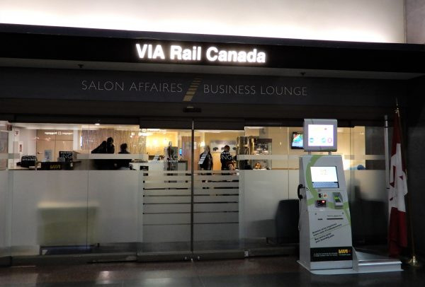 Montreal's Central Station Business Lounge