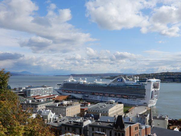 Princess Cruise Ship Quebec City