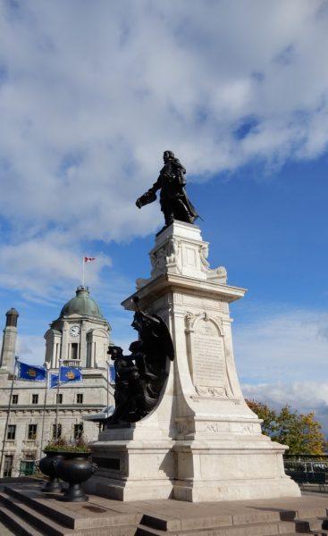 Quebec City Monument