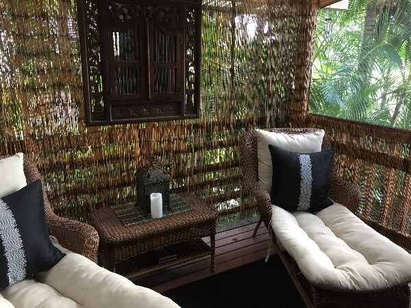 The Bali House & Cottage Private Sitting Area