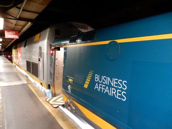 VIA Rail Business Class