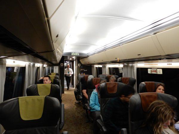 VIA Rail Business Class Car