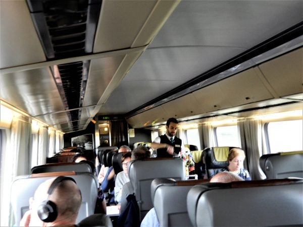 VIA Rail Business Class Service