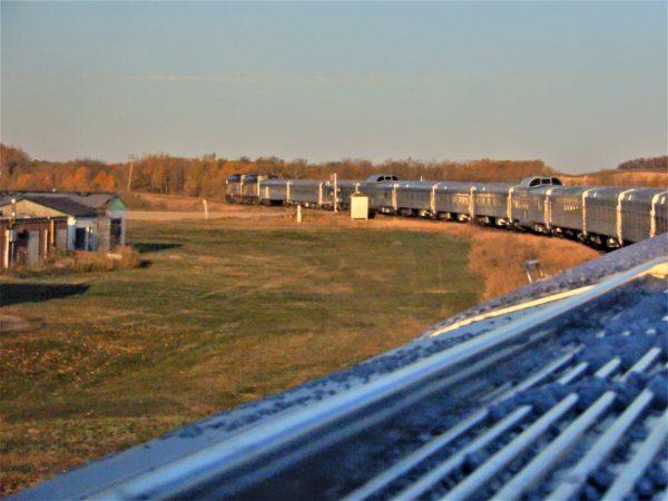 VIA Rail Passenger Train