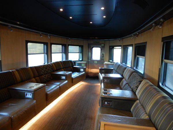 VIA Rail Prestige Class Rear Lounge