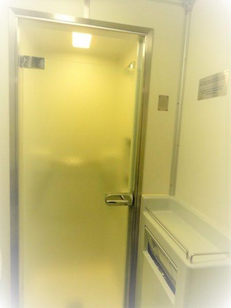 VIA Rail Sleeper Plus Common Shower Room