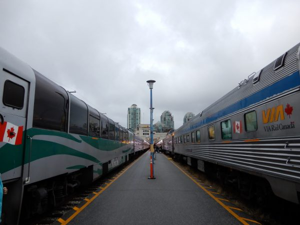 VIA Rail Vancouver Train Station