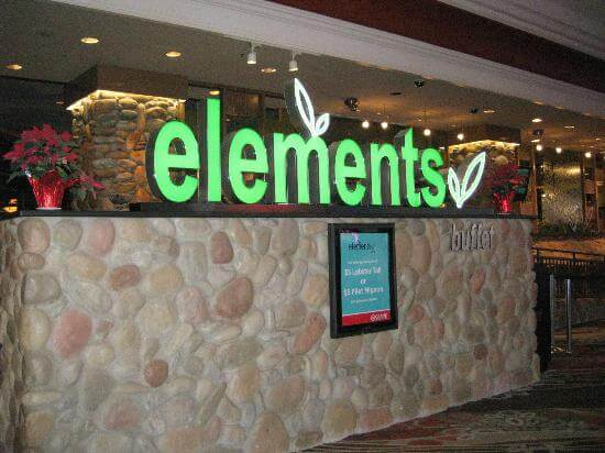 elements buffet grand sierra resort