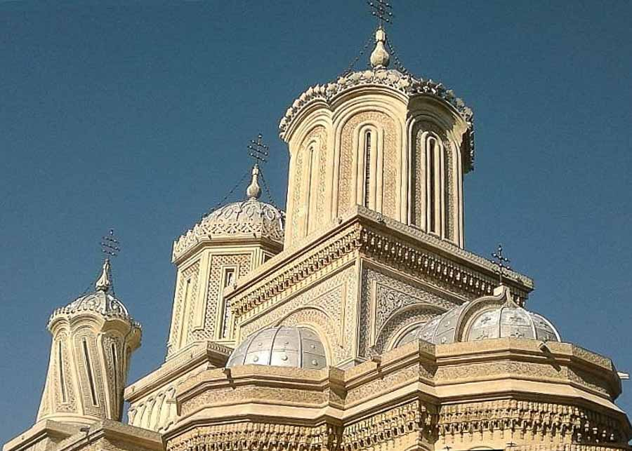 Central dome of the Curtea De Arges Cathedral