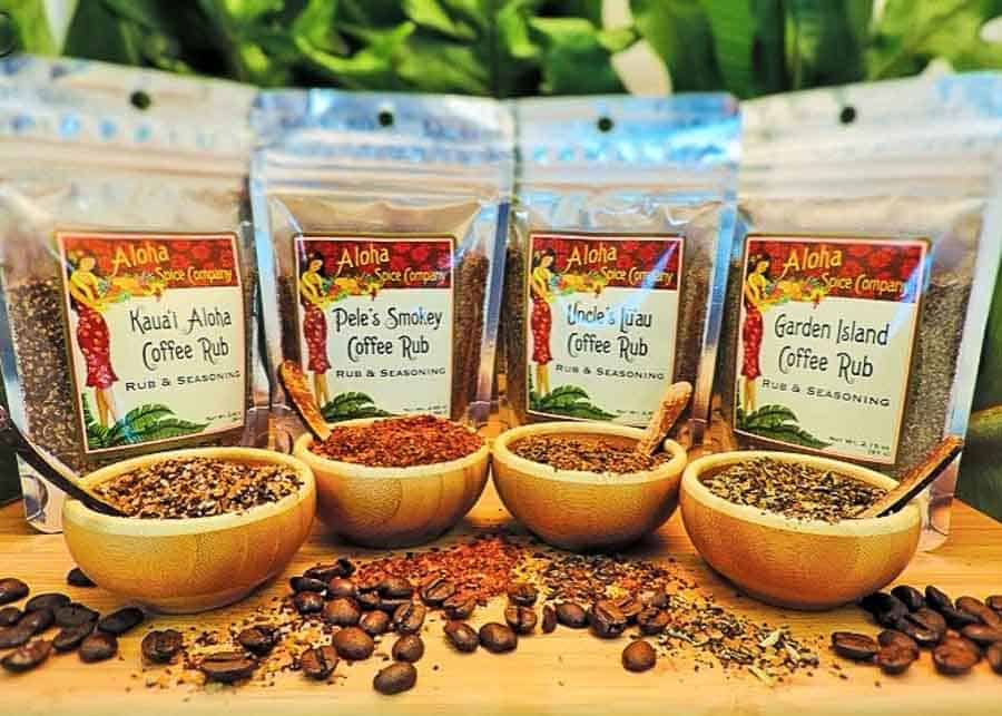 Hawaiian spices